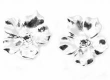 Flower shape silver plated Earrings
