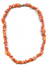 Collier de Corail orange
